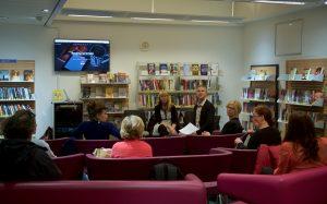 Brighton Digital Festival Reading on Screen event